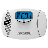 First Alert 1039746/CO615 Dual Power Carbon Monoxide Plug-In Alarm With Battery Backup And Digital Display