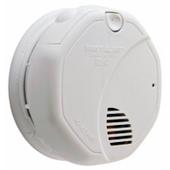 First Alert 1039828/SA320CN Dual Sensing Battery Powered Smoke Alarm With Smart Sensor
