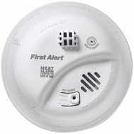 First Alert HD6135FB Alarm Heat Ac Wired 9V Backup