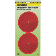 Hy Ko CDRF-5R 3-1/4 Inch Nail On Red Reflectors (Pack Of 2)