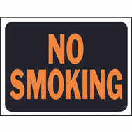 Hy Ko 3013 Hy Glo 9 Inch By 12 Inch Plastic No Smoking Sign