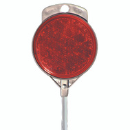 Hy Ko DM100R48 48 Inch Red Reflector Aluminum Driveway Marker
