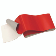 Hy Ko TAPE-4 2 Inch By 24 Inch Reflective Safety Tape Red