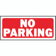 Hy Ko 23002 6 Inch By 14 Inch Heavy Plastic Sign No Parking