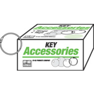 Hy Ko KB118 1 Inch Hinged Binder Ring (Pack Of 50)