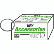 Hy Ko KB100 1 Inch Thin Split Key Ring (Pack Of 1000)