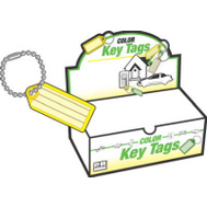 Hy Ko KB140-100 Key Tag With Beaded Chain