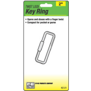 Hy Ko KC121 Twist Lock Key Ring