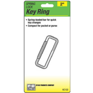 Hy Ko KC122 Kc122 Key Ring Spring Lock