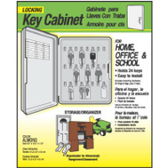 Hy Ko KO302 Lockable Plastic Key Cabinet