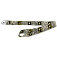Hy Ko LAN-119 Lanyard W/Licensed Army 1In