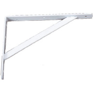 Knape & Vogt 208WH400 Ultimate L Bracket 16 By 10 Inch White