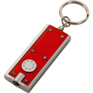 Trans USA PCC-36346RD Polybag PCC Red LED Keychain Flashlight