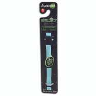 Petmate 02355 Collar Glow 3/8Inx 8-14In Blue