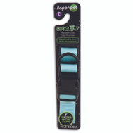 Petmate 02357 Collar Glow 1Inx16-26In Blue