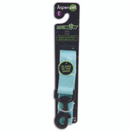 Petmate 02359 Leash Pet Glow 1Inx 4Ft Blue