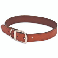Petmate 10832 1 By 24 Inch Brown Leather Collar