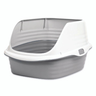 Petmate 22206 Pan Litter Rimmed Large