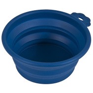 Petmate 23367 Travel Pet Bowl Blue 1-1/2 Cup