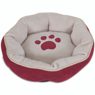 Petmate 26542 Bed Pet 18In Round Sculpted