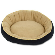Petmate 28375 18 Inch RND Bolster Pet Bed