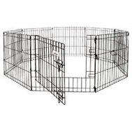 Petmate 55014 Pet Mate Exercise Pen With Door 192 Inch By 42 Inch