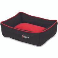 Petmate 80379 Bed Dog 22X18in Loungr Red/Blk