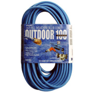 Southwire 02469-06 100 Foot 14/3 Blue Extension Cord