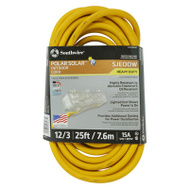 Southwire 3487SW0002 25 Foot 12/3 Yellow Power Block