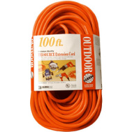 Southwire 04219 100 Foot 14/3 3 Outlet Extension Cord