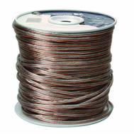 Coleman Cable 0784 500 Foot 24/2 Cl2 Clear Speakr Wire