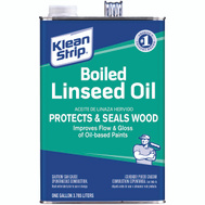 WM Barr GLO45 Klean Strip Linseed Oil Boiled Gallon