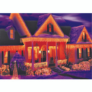 Holiday Basix U04Z008C Light Set Icicle Clear 300