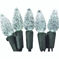 Holiday Basix U12E744A Light Set C6 Sts White 60L