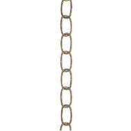 Westinghouse 7007100 Chain Oval 3Ft 35 Pound Ant Brass