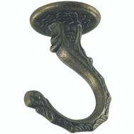 Westinghouse 7044100 Large Swag Hook 2-1/2 Inch Antique Brass