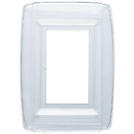 Westinghouse 74998 Plastic Single Gang Wall Shield Clear