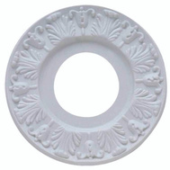 Westinghouse 7702700 Medallion Ceil 10In Vict White