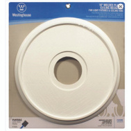 Westinghouse 7703500 Medallion Ceiling 16In White