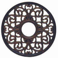 Westinghouse 7776400 Medallion Ceiling 16In Ant Brs