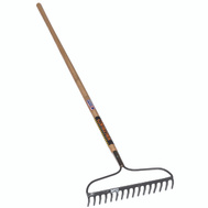 Seymour 42357 Structron Rake Bow 16Tine 60 Inch Handle