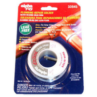 Alpha Assembly AM33945 3 Ounce.125 Plumbing Solder