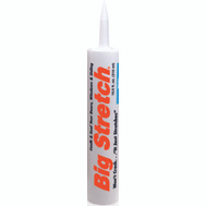 Sashco 10016 Big Stretch 10 1/2 Ounce White Acrylic Sealant