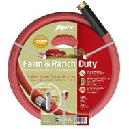 Teknor Apex 969RR-50 3/4 Inch By 50 Foot Red Farm Hose
