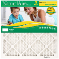 AAF Flanders 87357.011425 Naturalaire Standard 3 Pack 14 Inch By 25 Inch By 1 Inch Electrostatic Filter