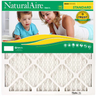 AAF Flanders 84858.012525 Naturalaire Standard 25 Inch By 25 Inch By 1 Inch Electrostatic Filter