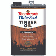 Thompsons TH.049821-16 Sealer Oil Redwood Gallon
