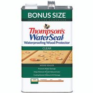 Thompsons 21801 Waterseal Waterproofer Plus Clear Wood Protector VOC 1.2 Gallon Oil Based