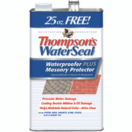 Thompsons 23111 Clear Waterproofer Plus Masonry Protector 1.2 Gallons
