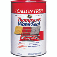 Thompsons 24106 Clear Multi Surface Waterproofer Low VOC 6 Gallon
